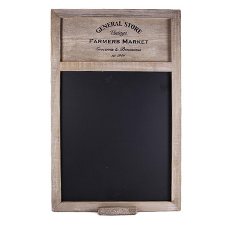Shabby vintage chic farmers market blackboard w chalk - Ardoise murale ikea ...