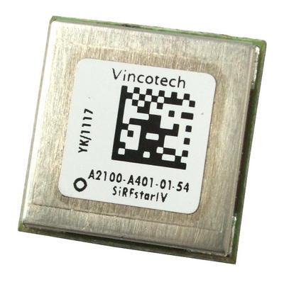 View Item Vincotech A2100-A401-01-54 GPS RX Module, SiRFStarIV, A2100-A Single Chip