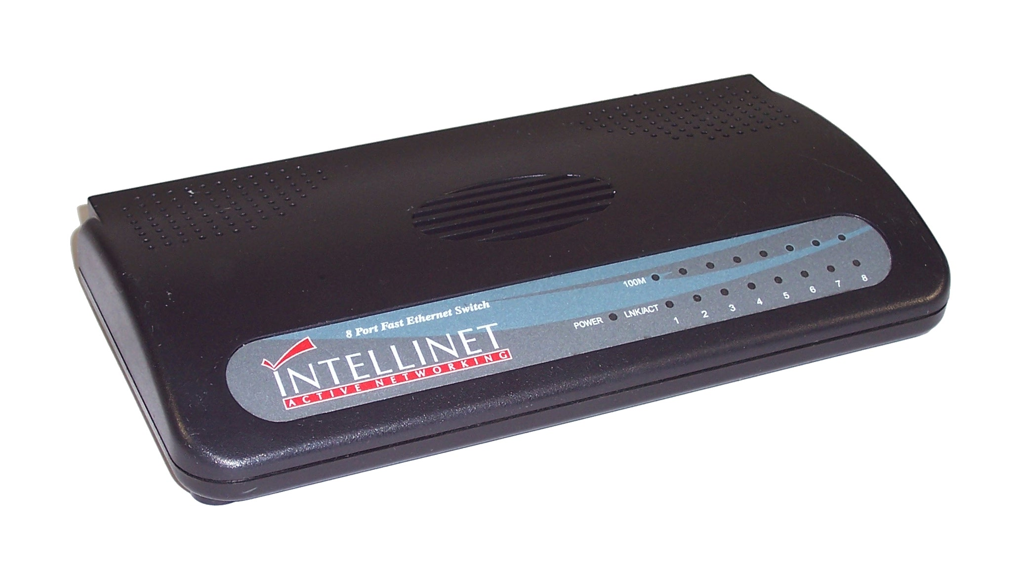 Intellinet 3108 8 port fast ethernet switch no power supply - 8 port fast ethernet switch ...