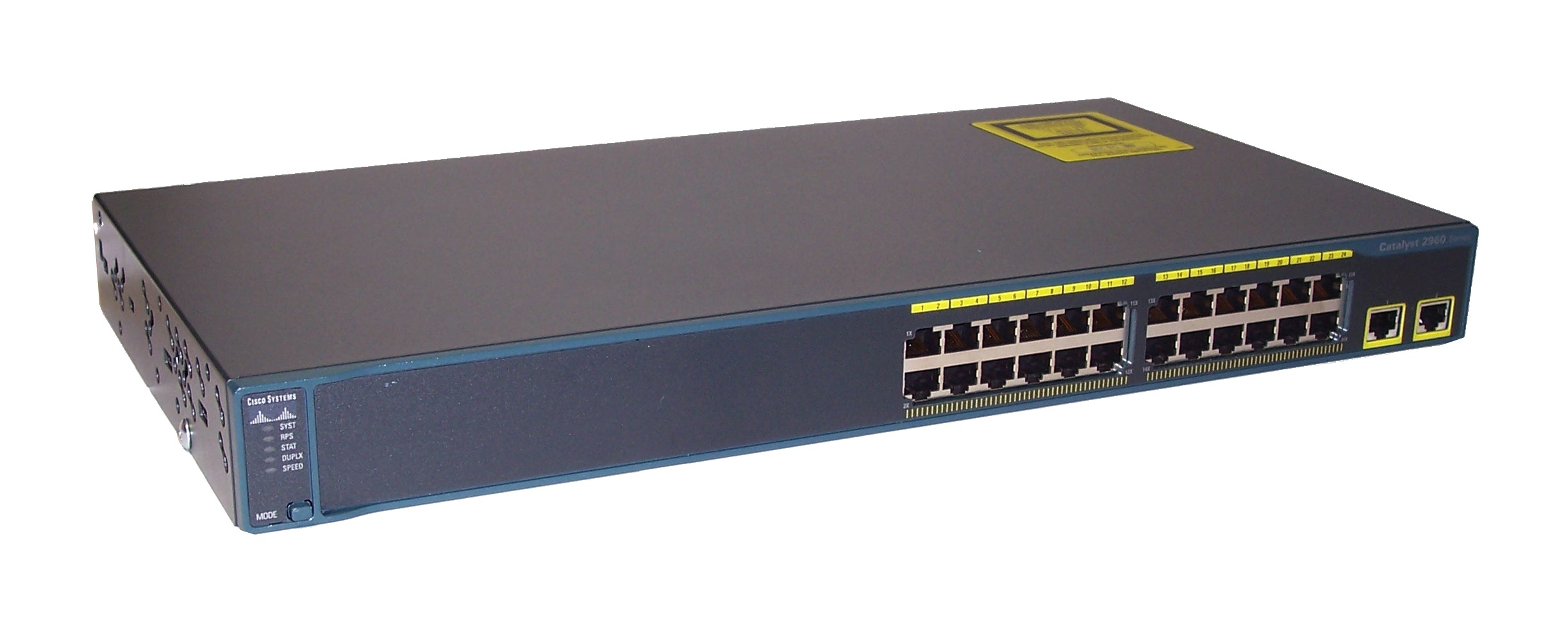 Cisco WS-C2960-24TT-L V02 Catalyst 2960 Version: 12.2(25)SEE2 24 Ethernet Switch Enlarged Preview
