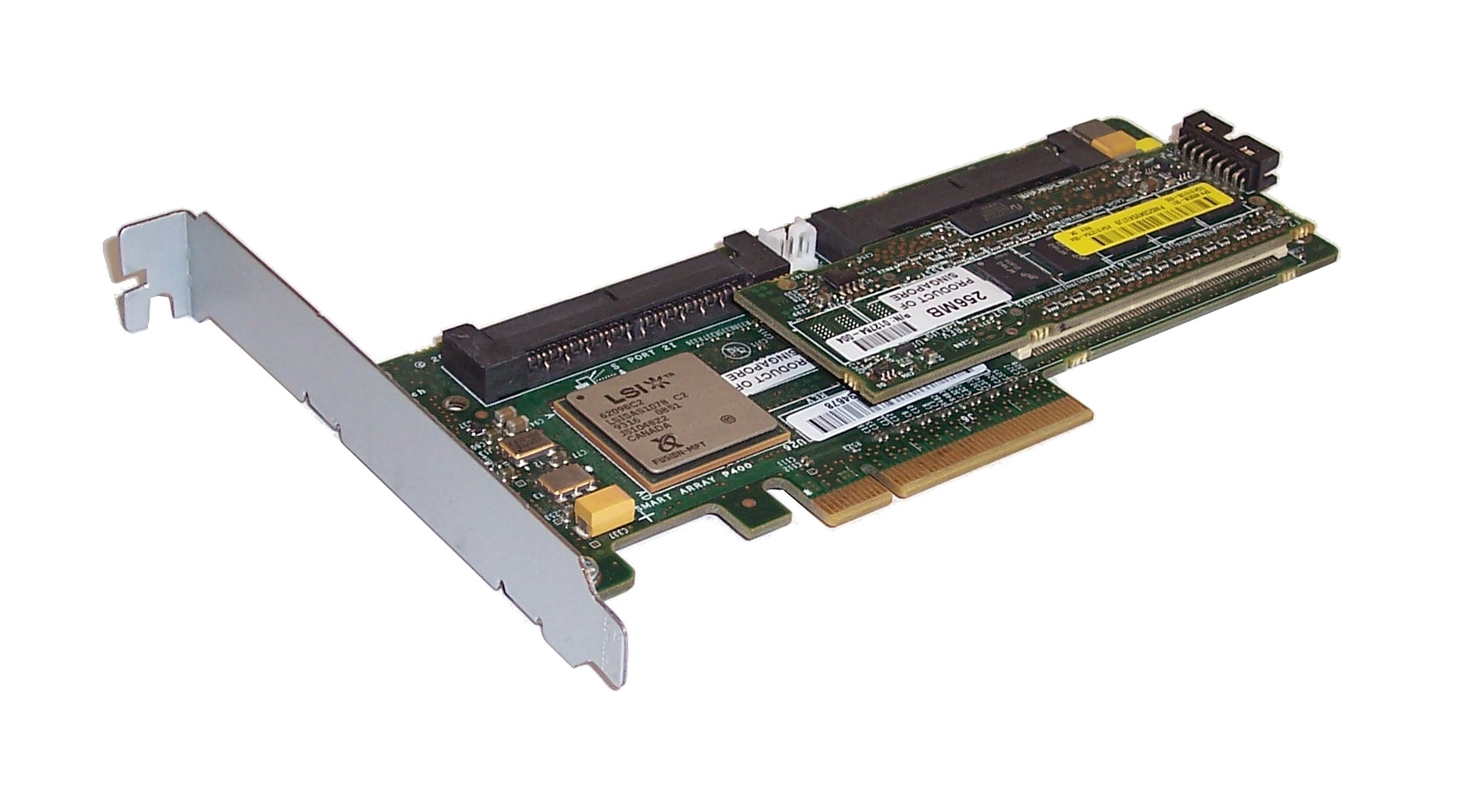 hp 504023 001 proliant p400 smart array raid controller card with 256mb memory. Black Bedroom Furniture Sets. Home Design Ideas