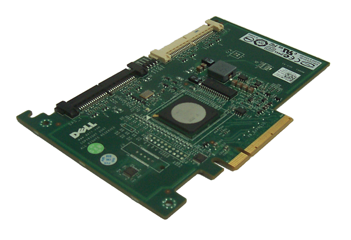 Dell YK838 PowerEdge SAS 6/IR 6i/R RAID Controller Card PCIe 8x Enlarged Preview