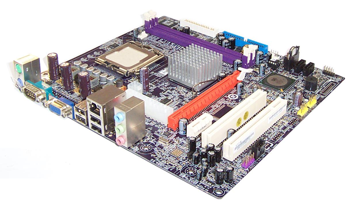 Ecs 671t-m motherboard