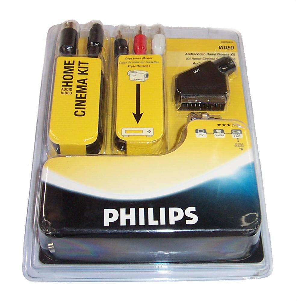 new philips swv2068 10 audio video home cinema kit ebay. Black Bedroom Furniture Sets. Home Design Ideas
