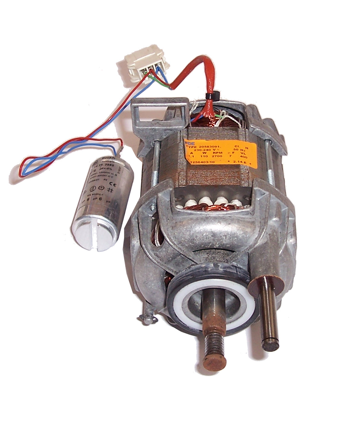 Electrolux Drive Motor With Capacitor For Edi96150w Tumble