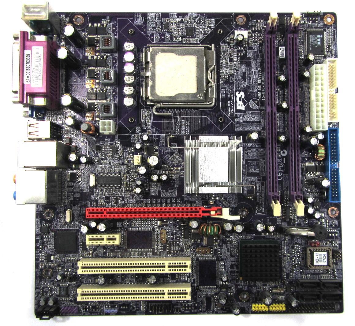 Bmwputer: Ecs 945p A Motherboard Manual