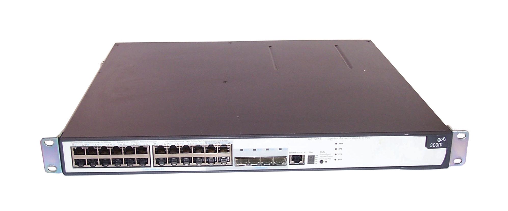 3com 3cr17250 91 3cr17254 91 superstack 4 5500g ei 24 port for 3 com switch