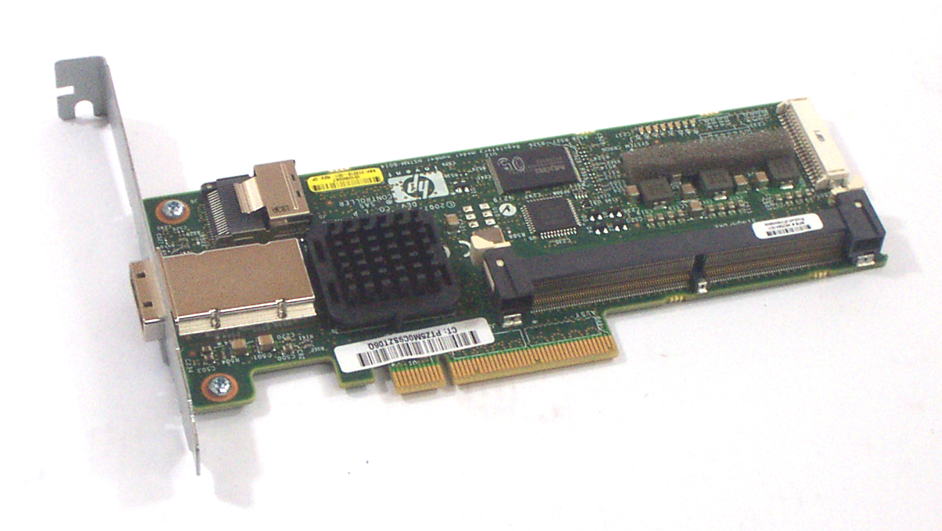 hp 013218 001 smart array pcie sas raid controller card ebay. Black Bedroom Furniture Sets. Home Design Ideas