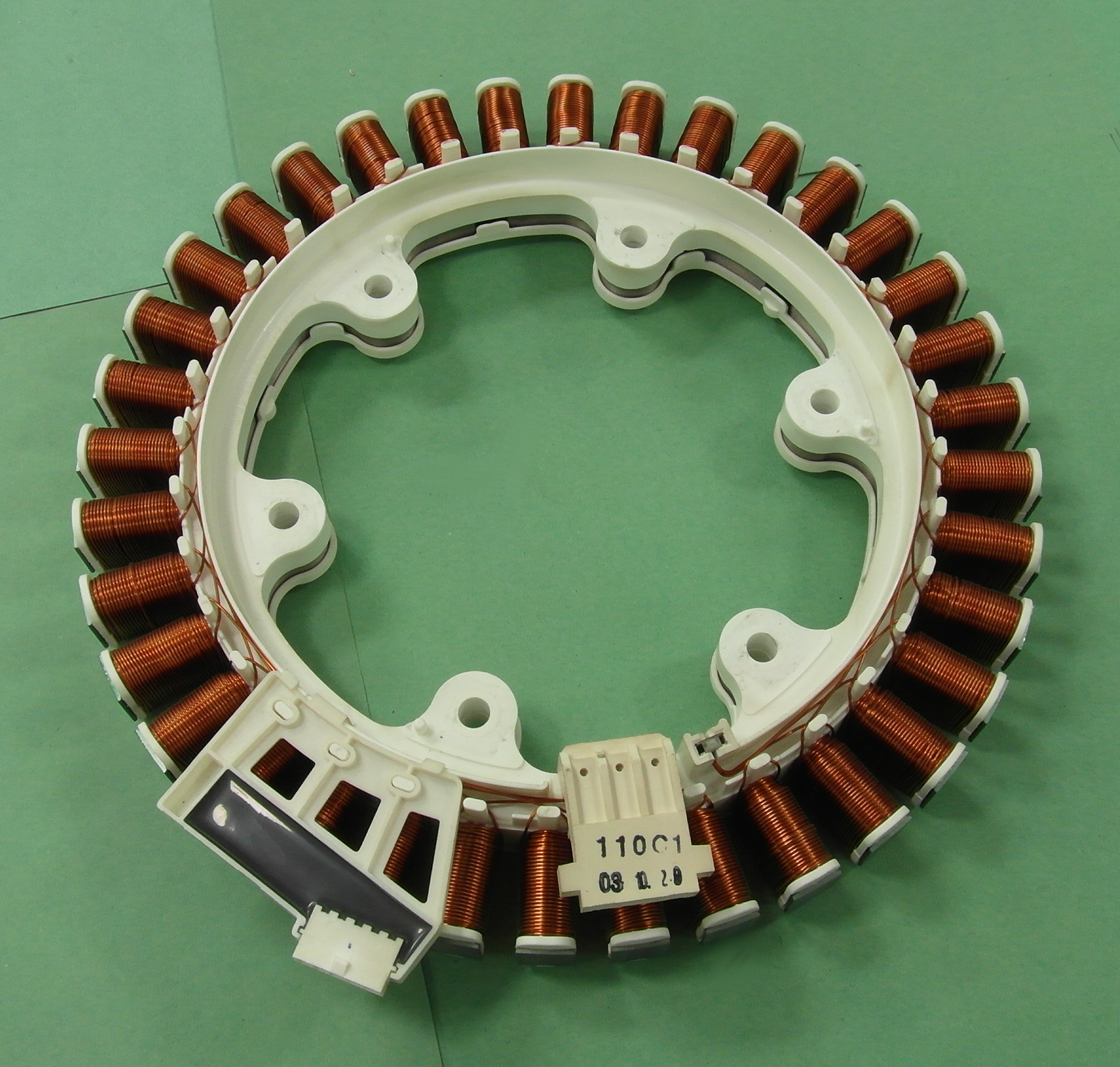 Lg wm 13220fd washing machine direct drive motor stator ebay for Lg direct drive motor