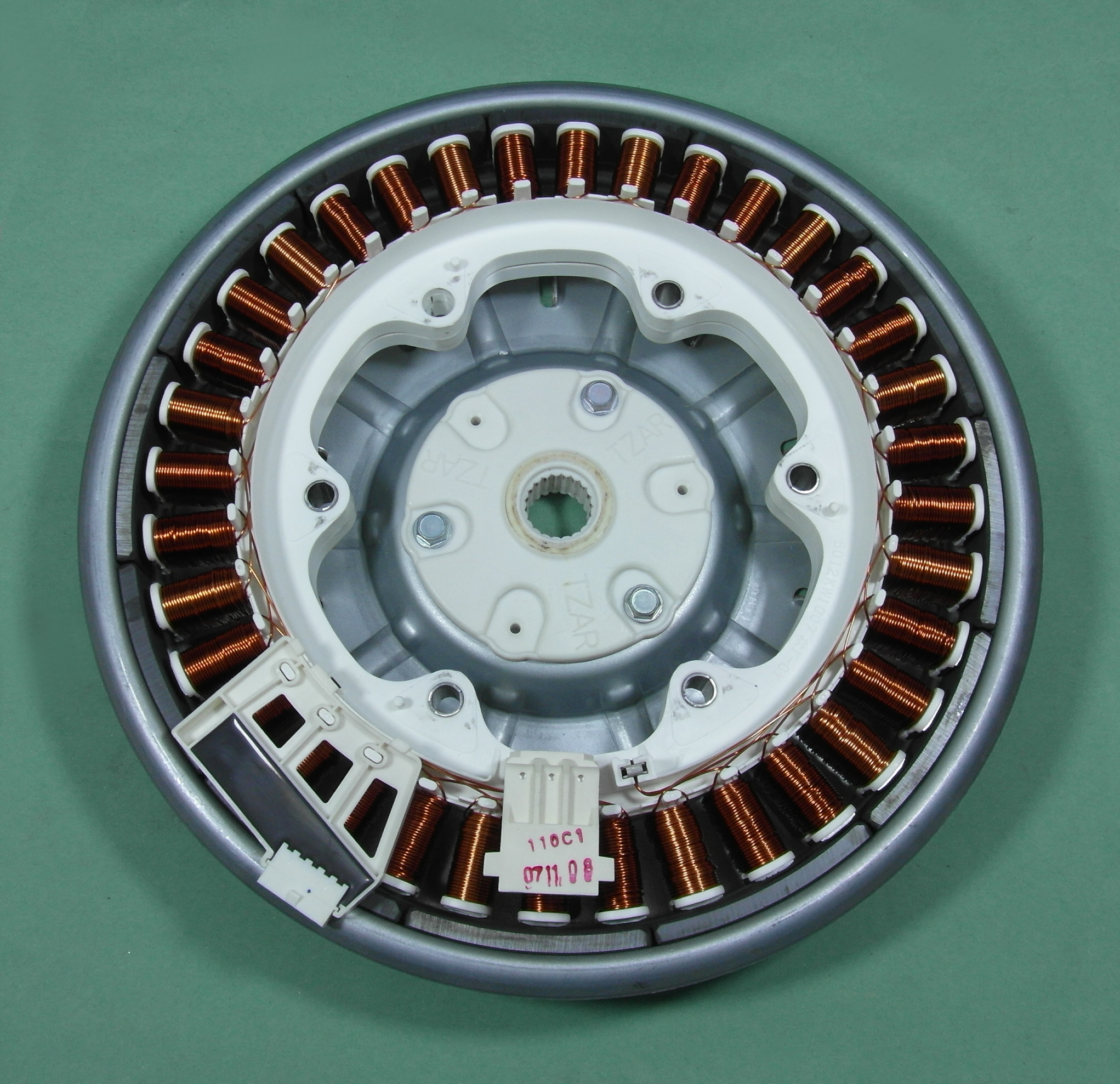 Lg wm 14440tds washing machine direct drive rotor motor for Lg direct drive motor