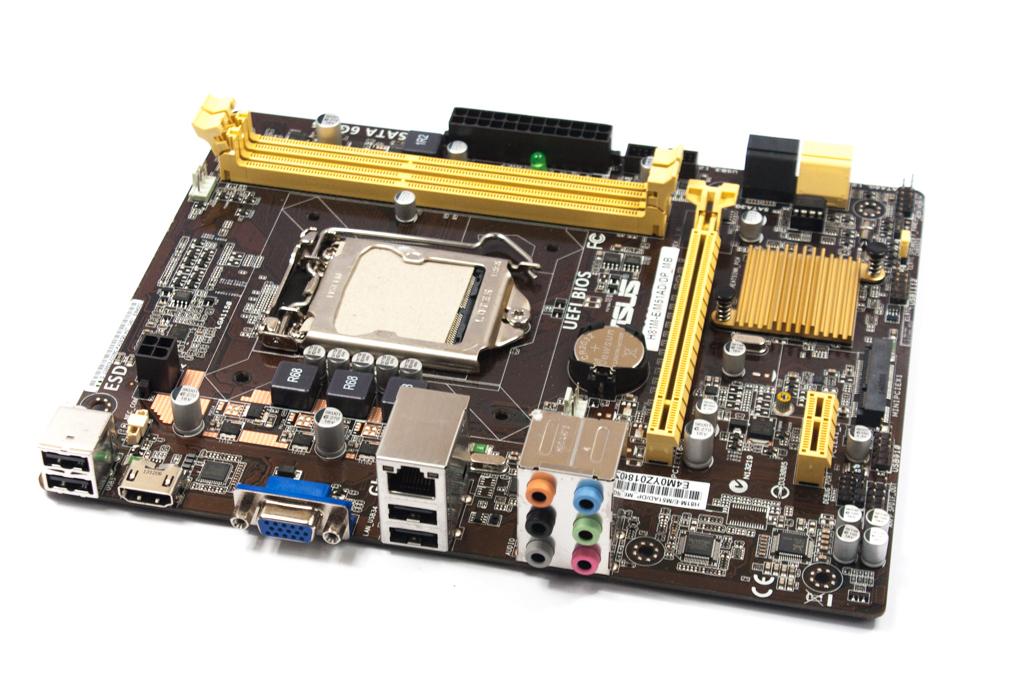 H81M E M51AD DP MB ASUS Intel Socket LGA1150 Motherboard