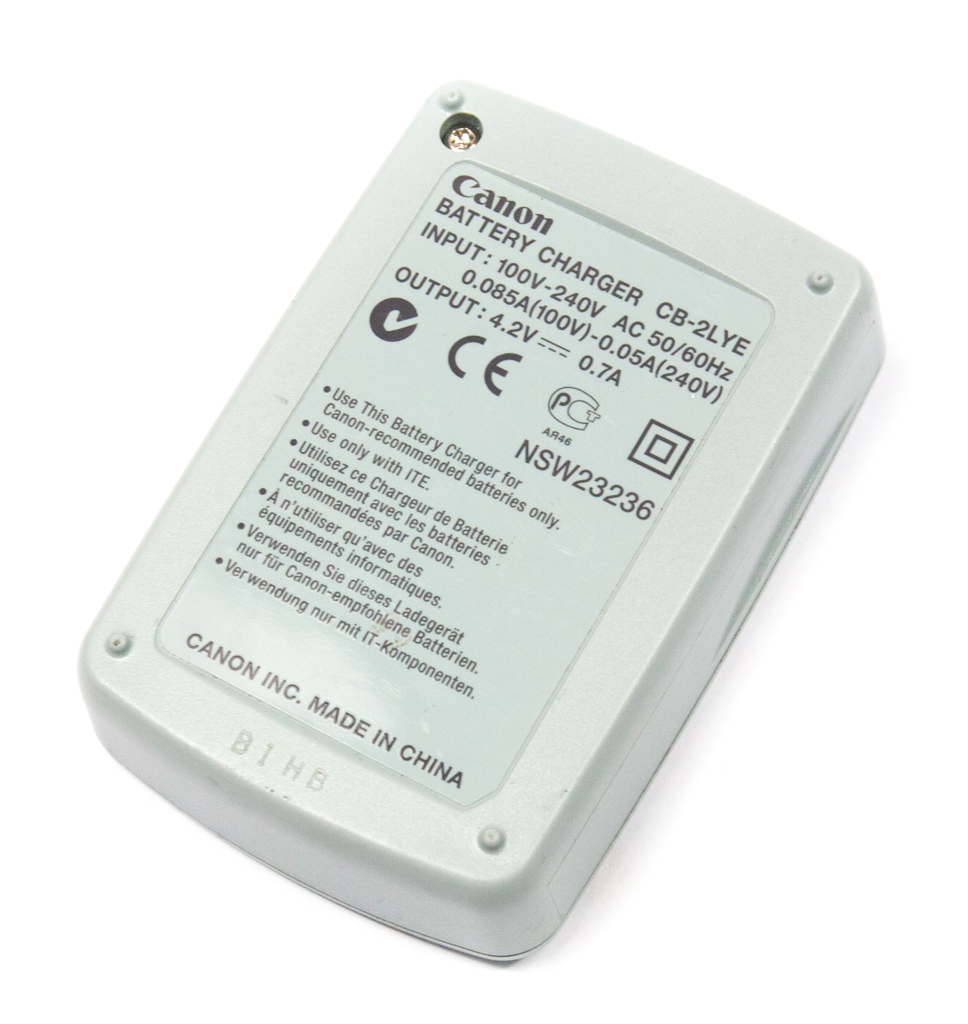 Genuine Cb 2lye Canon Camera Battery Charger Unit Ebay