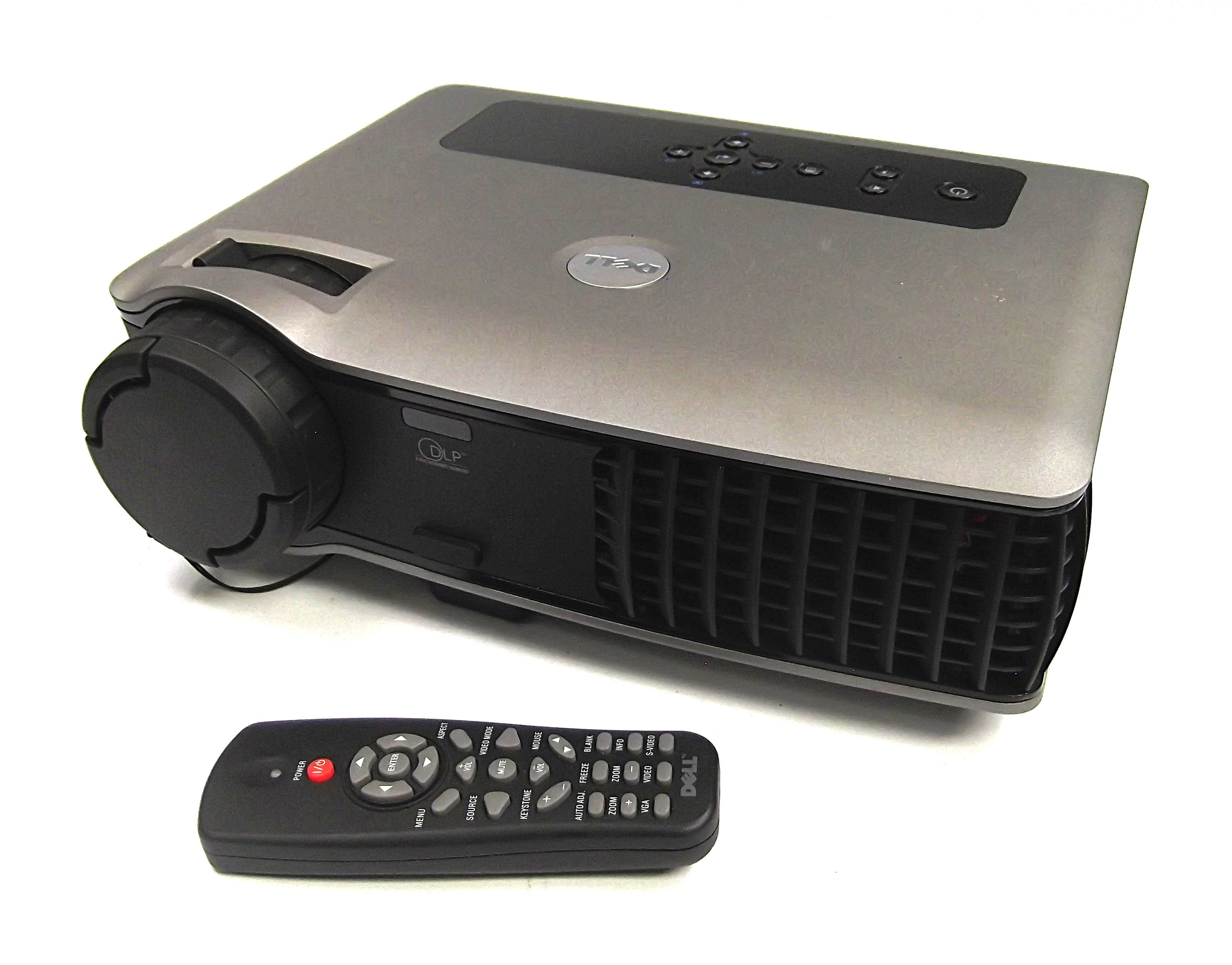 Dell 5100mp Dlp Front Projector N8278 With Remote No