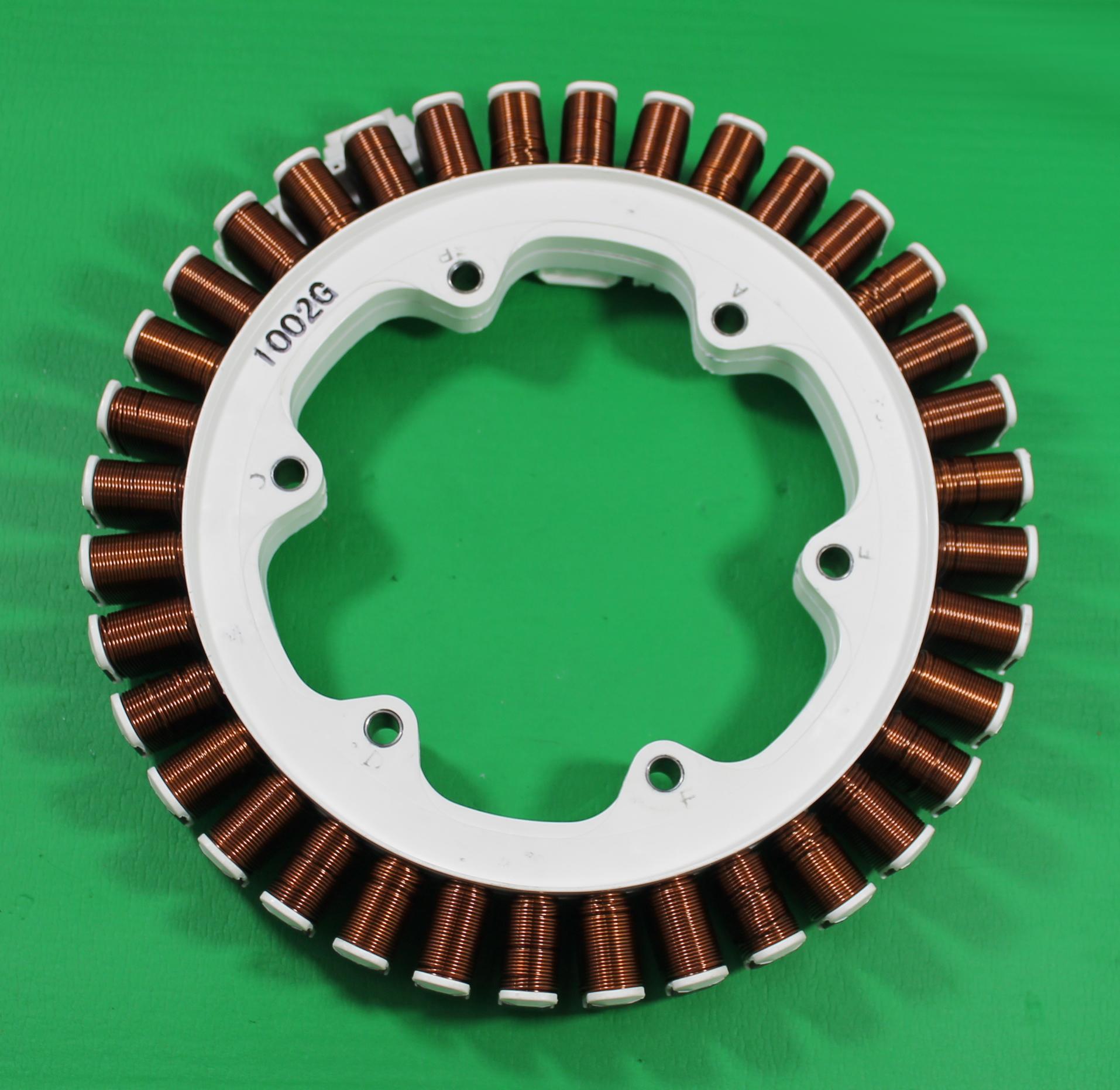Lg f1496tda washing machine direct drive rotor stator for Washing machine drive motor