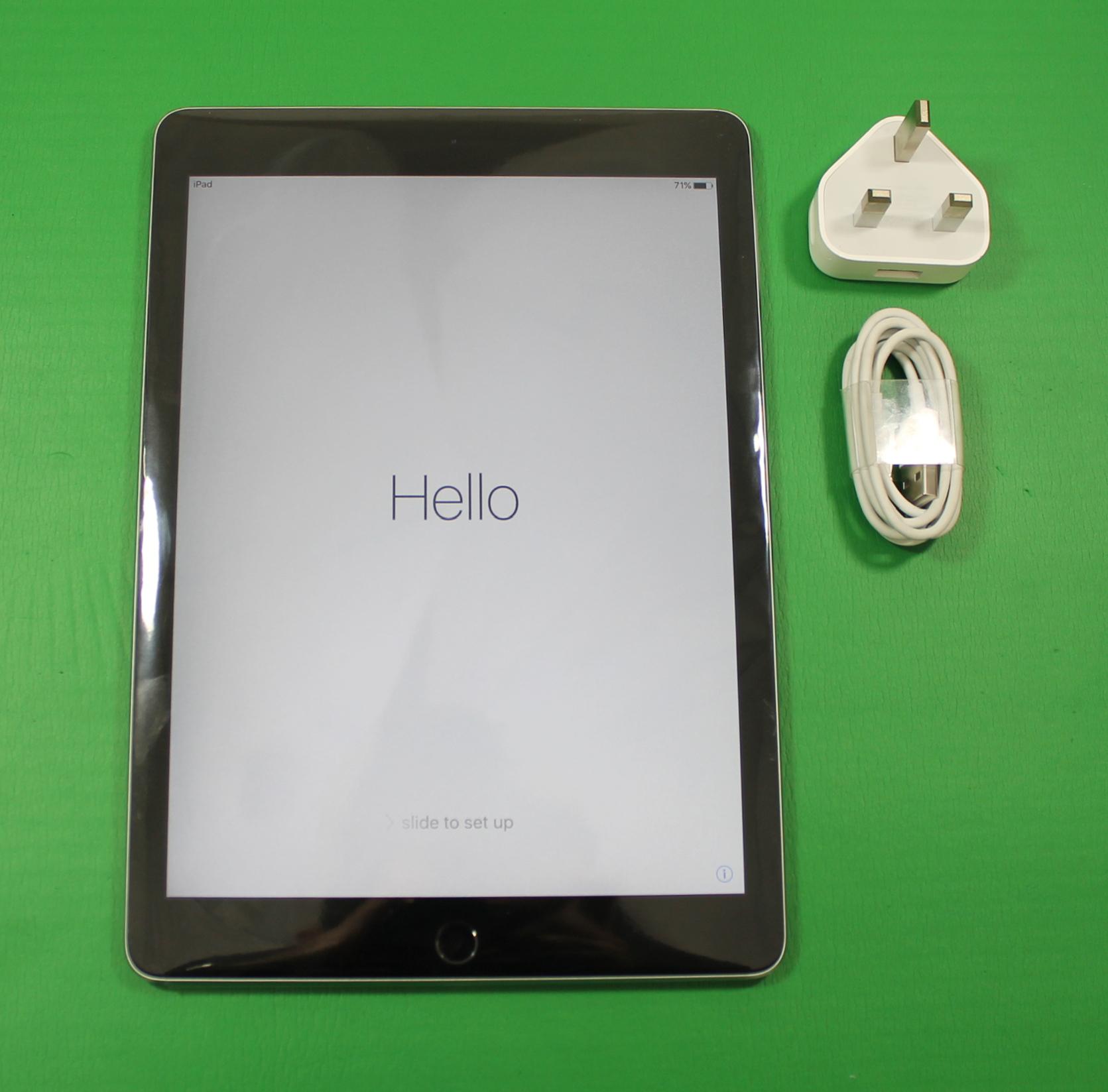 apple ipad air 2 wi fi 16gb space grey new ebay. Black Bedroom Furniture Sets. Home Design Ideas