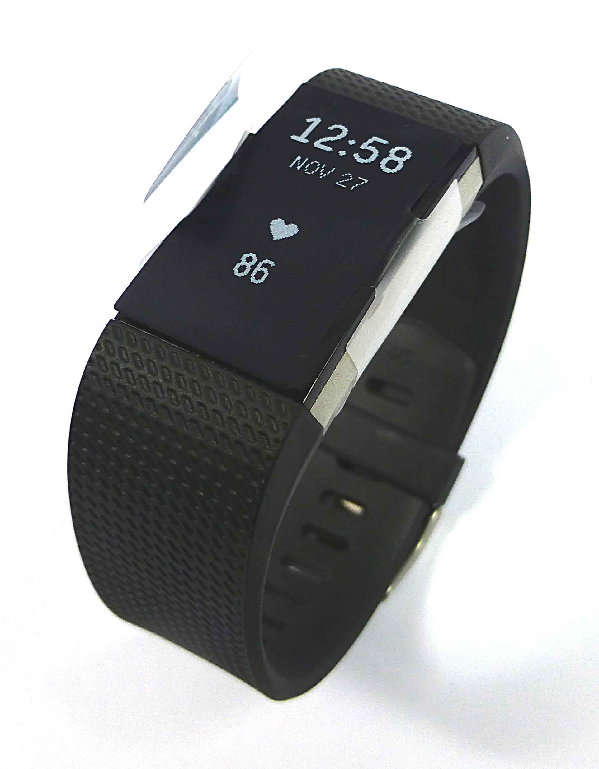 fitbit charge 2 fitness activity tracker fb407sbkl eu. Black Bedroom Furniture Sets. Home Design Ideas