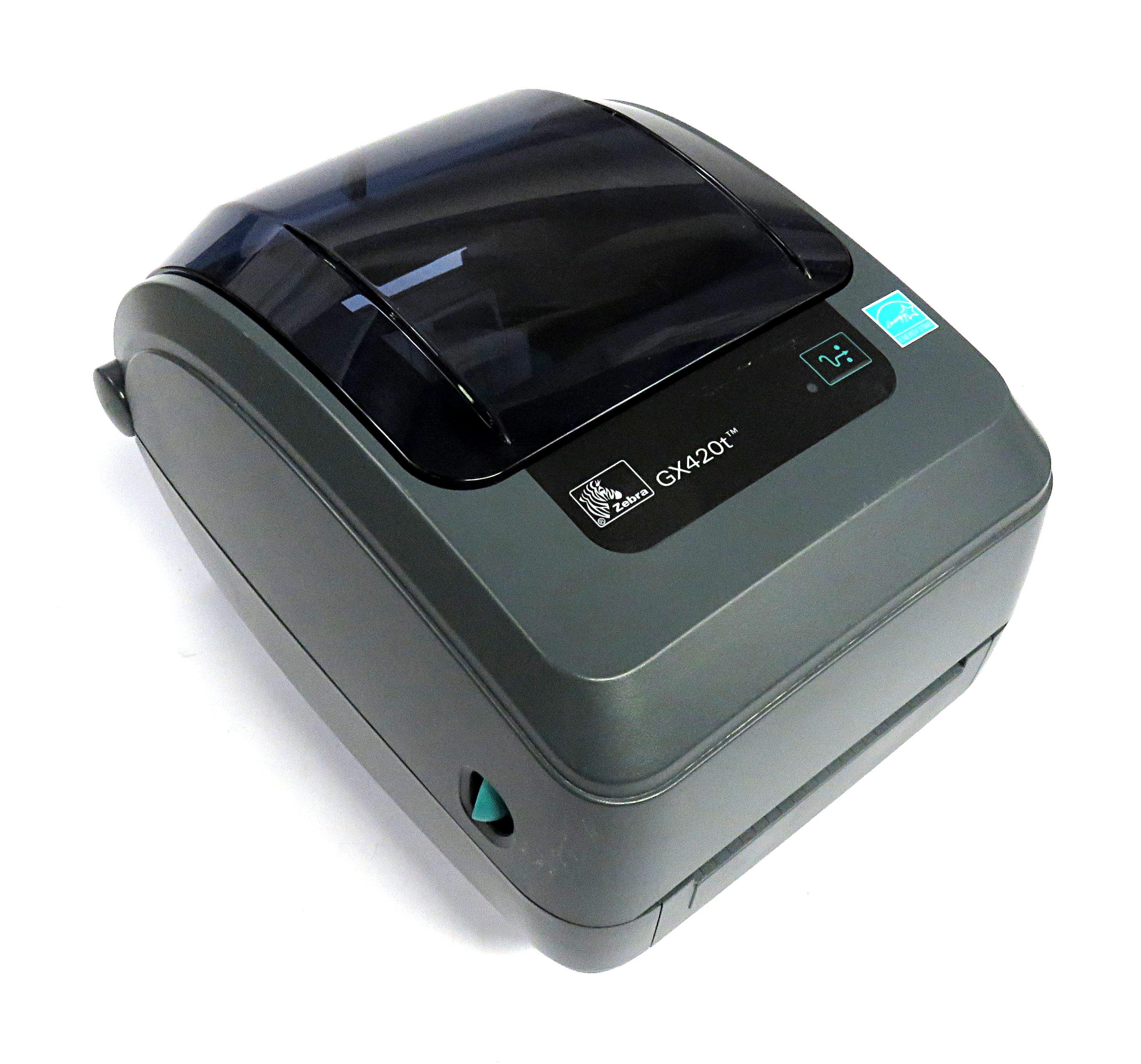 Zebra Gx420t Thermal Transfer Label Printer Gx42 102420