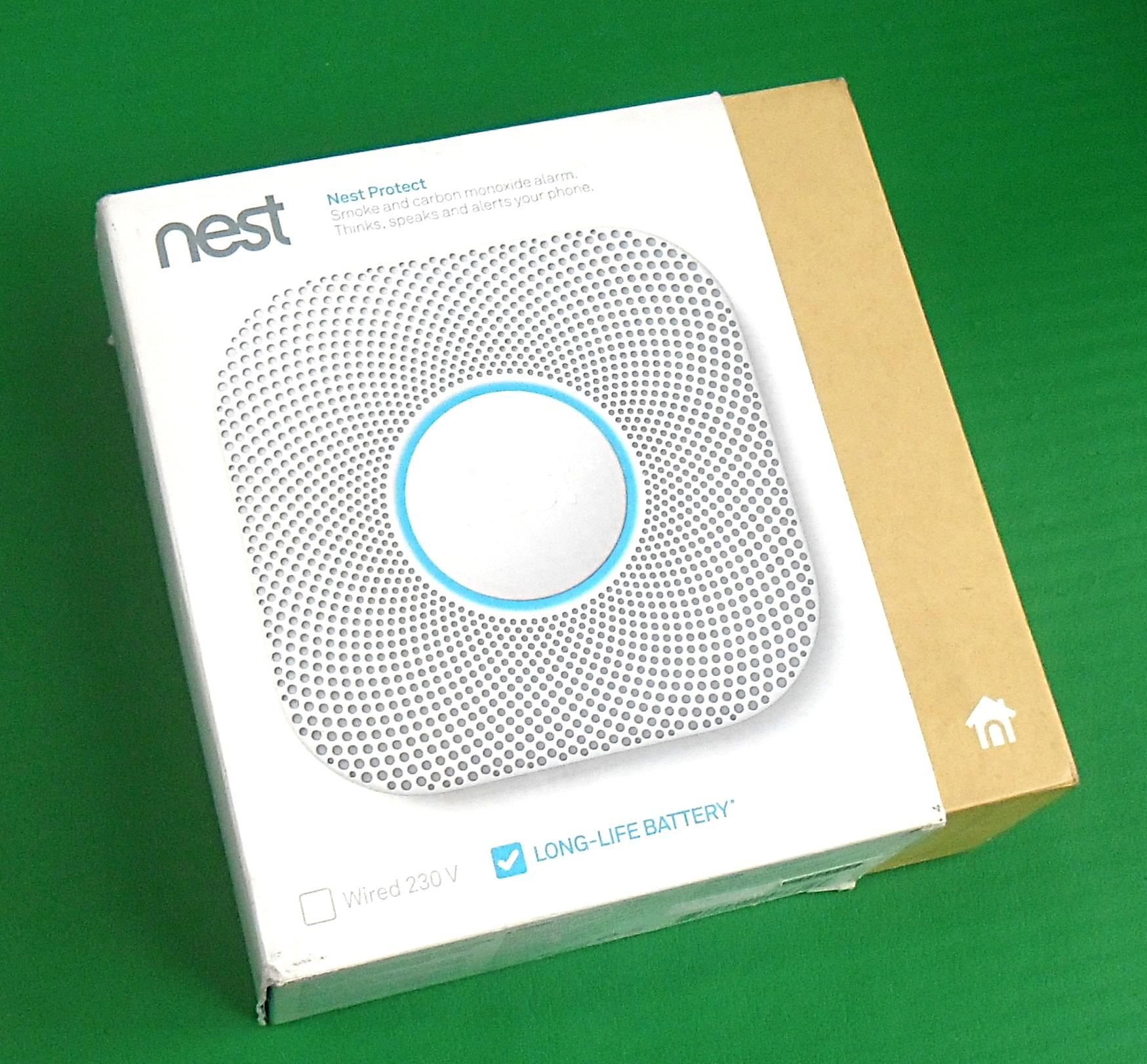 nest protect s3000bwgb 2nd gen smoke carbon monoxide. Black Bedroom Furniture Sets. Home Design Ideas
