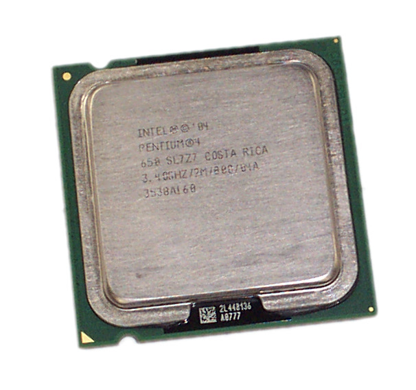 Intel SL7Z7 Pentium 4 650 3.4GHz 800MHz 2MB Socket T LGA775 Processor Enlarged Preview