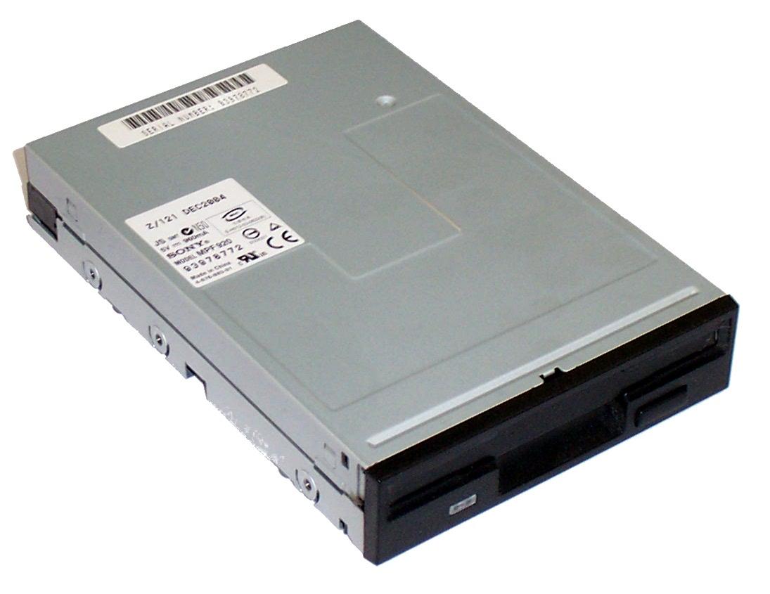 """Sony MPF920-Z 3.5"""" 1.44MB Black Bezel Floppy Disk Drive ..."""