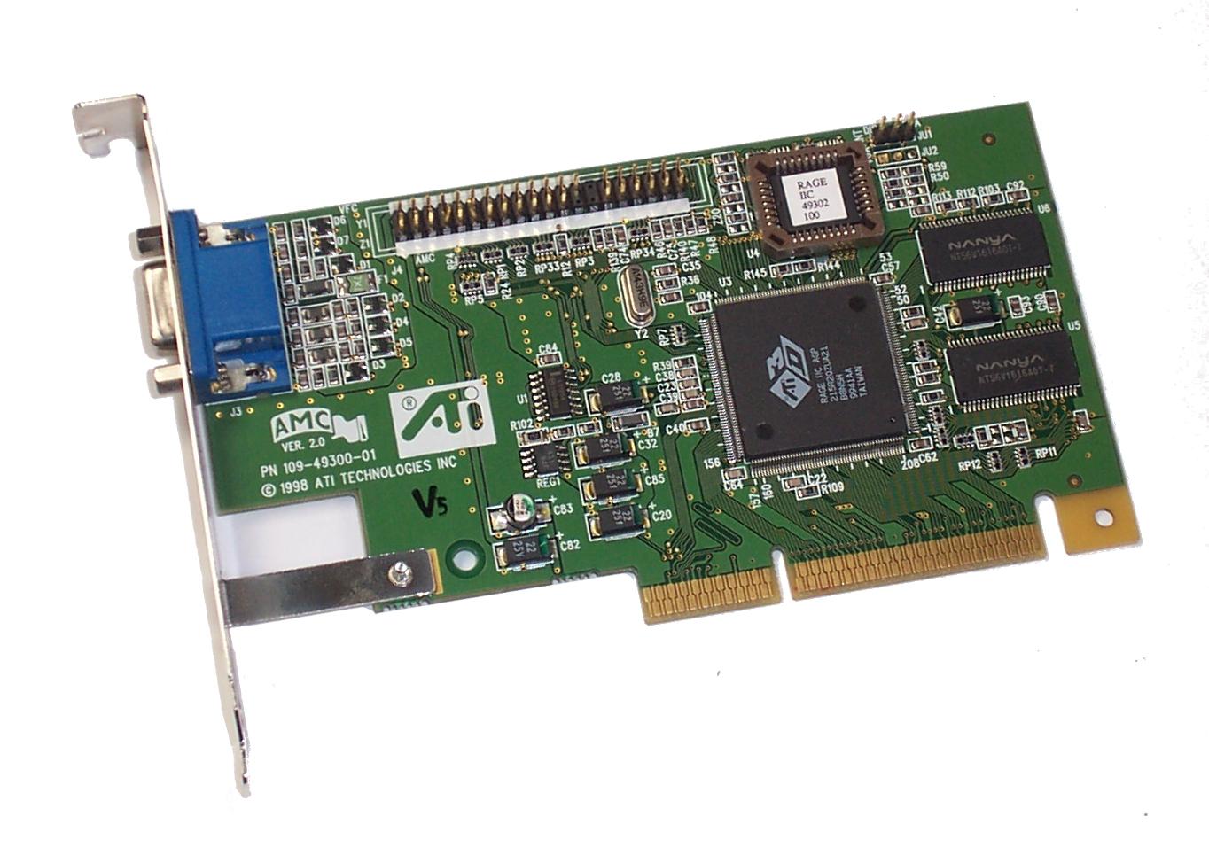 Rage IIC AGP driver for windows XP