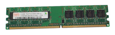 View Item Hynix HYMP564U64CP8-Y5 512MB PC2-5300U 667MHz CL5 DDR2 DIMM