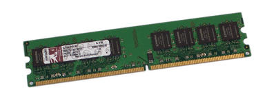 View Item Kingston KVR667D2N5/1G ValueRAM 667MHz 1GB DDR2 CL5 240-pin DIMM