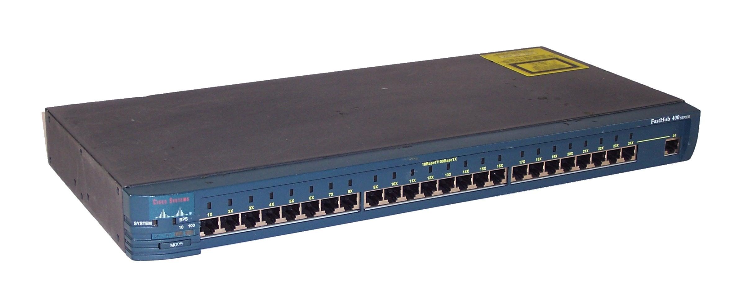 Cisco WS C424 FastHub 400 series 24 Port Hub