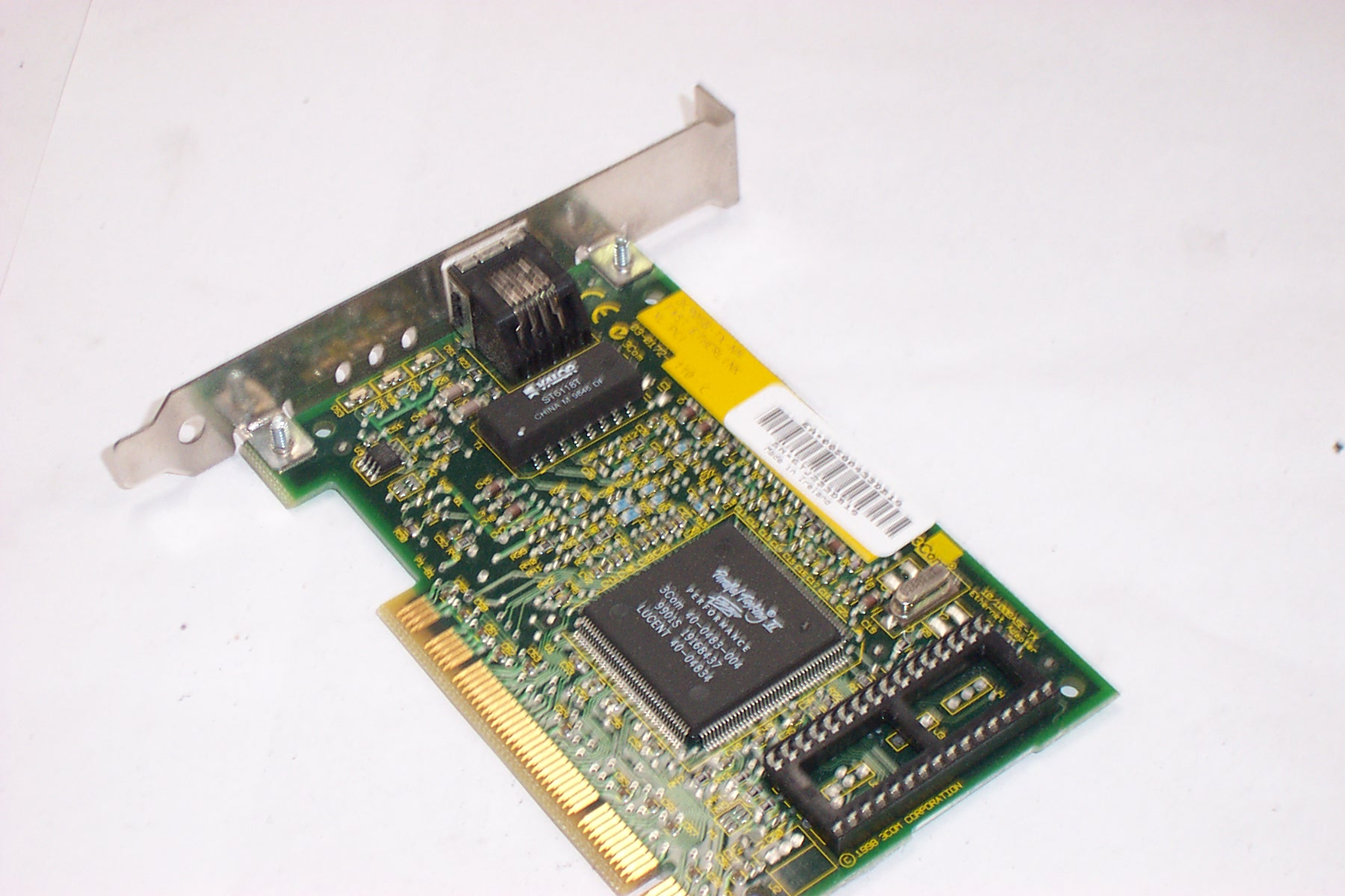 Driver 3Com EtherLink 10/ PCI NIC 3CC-TX-M working on windows 7 Download