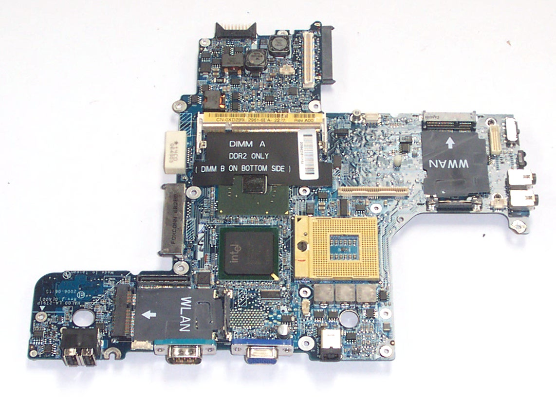 Dell XD299 Latitude D620 Motherboard (Intel Graphics) Enlarged Preview