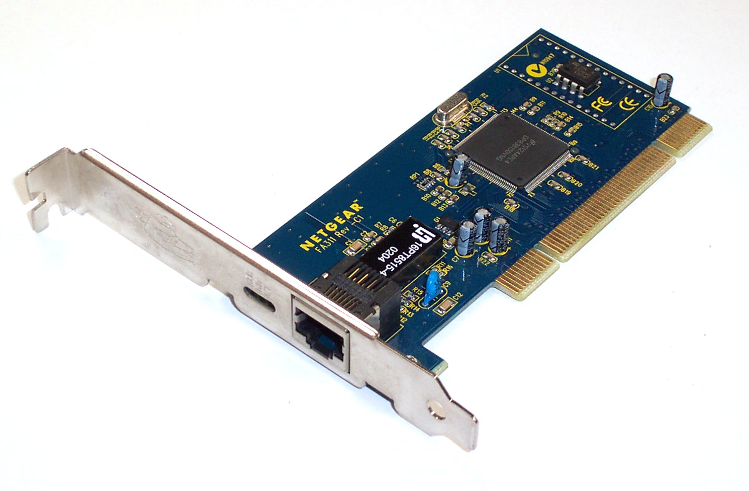NETGEAR FA311 REV-C1 10/100 ETHERNET NETWORK CARD Enlarged Preview