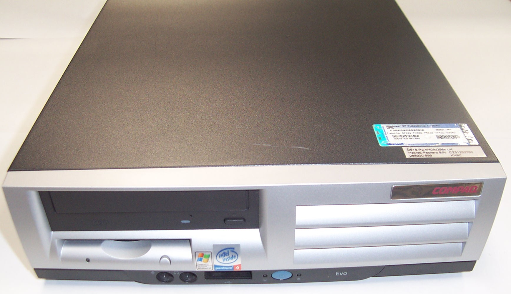 COMPAQ EVO D510 LAN DRIVER FOR WINDOWS 7