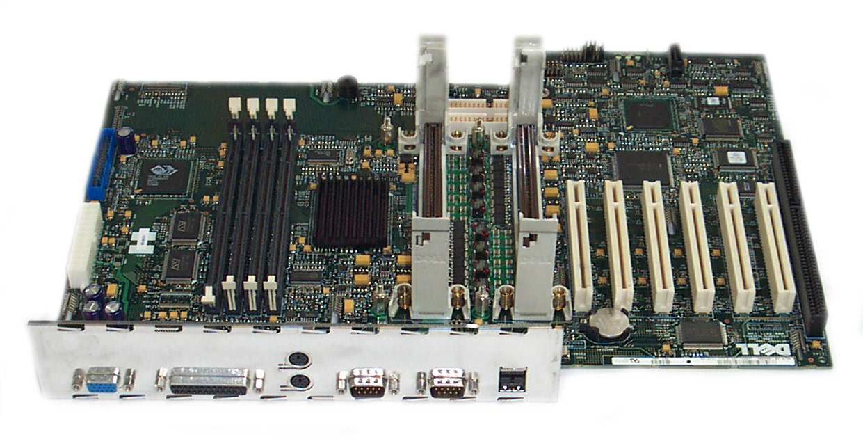 DELL 433DK POWEREDGE 300 DUAL SLOT 1 MOTHERBOARD Enlarged Preview