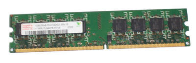 View Item Hynix HYMP512U64CP8-Y5 1GB PC2-5300 DDR2 DIMM