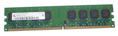 View Item Qimonda HYS64T128020HU-3S-B 1GB PC2-5300U CL5 DDR2 DIMM