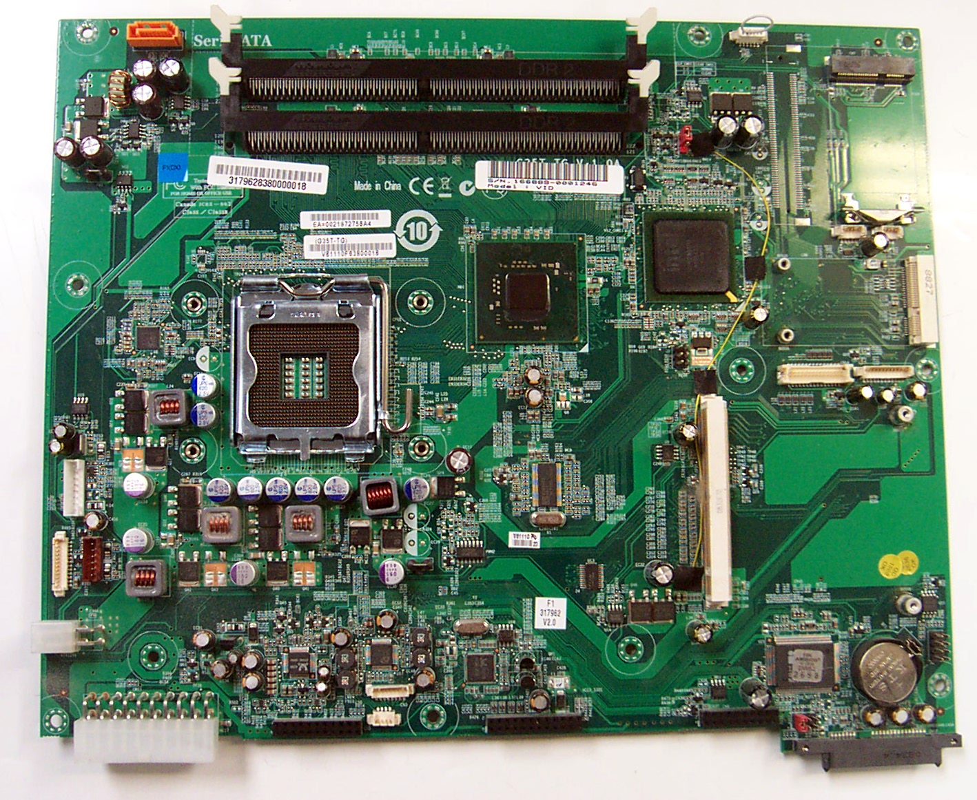 how to connect a laptop motherboard to a pc