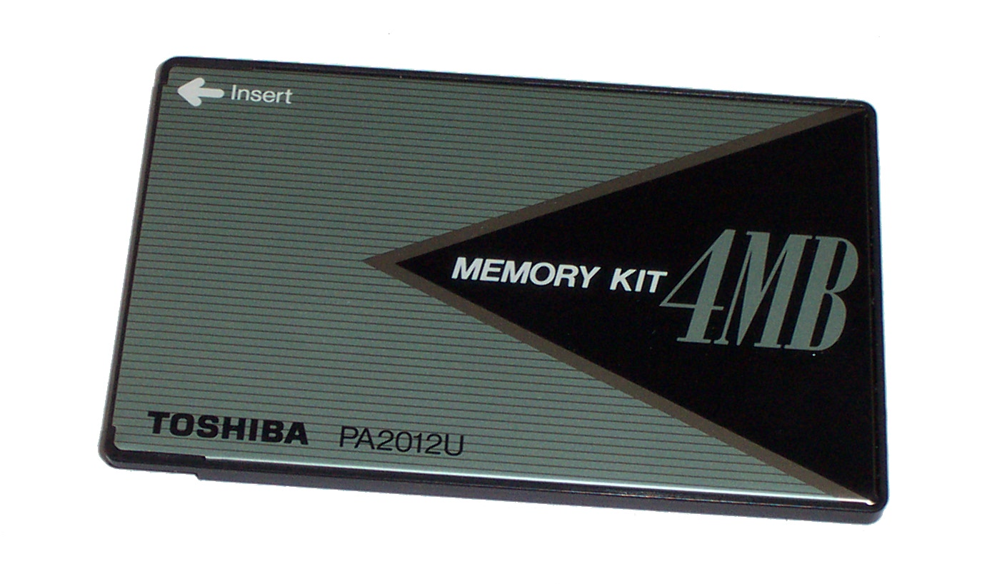 Toshiba PA2012U 4MB Memory Card Upgrade Enlarged Preview