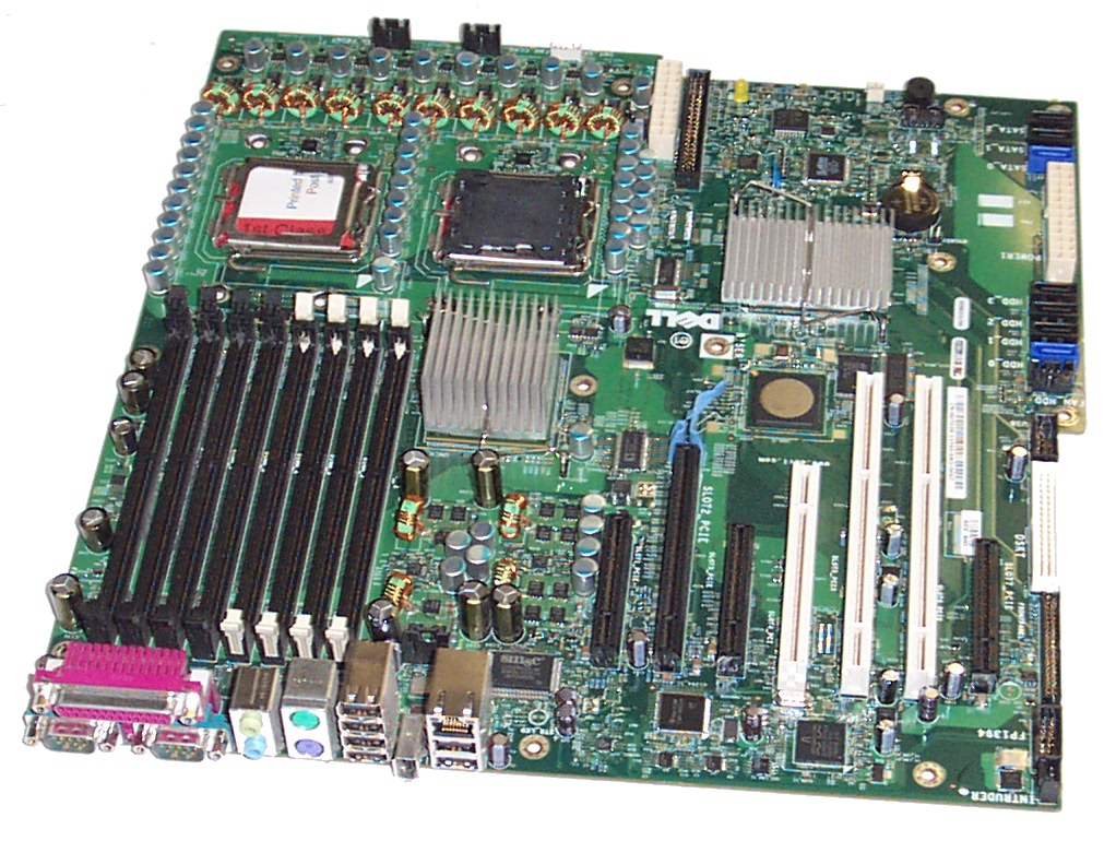 how to find the model of dell motherboard