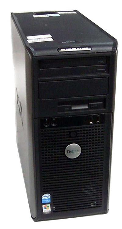 Dell OptiPlex GX520 DCSM Minitower PC Pentium 4 3.0GHz/1GB DDR2/80GB HDD/CD- ...