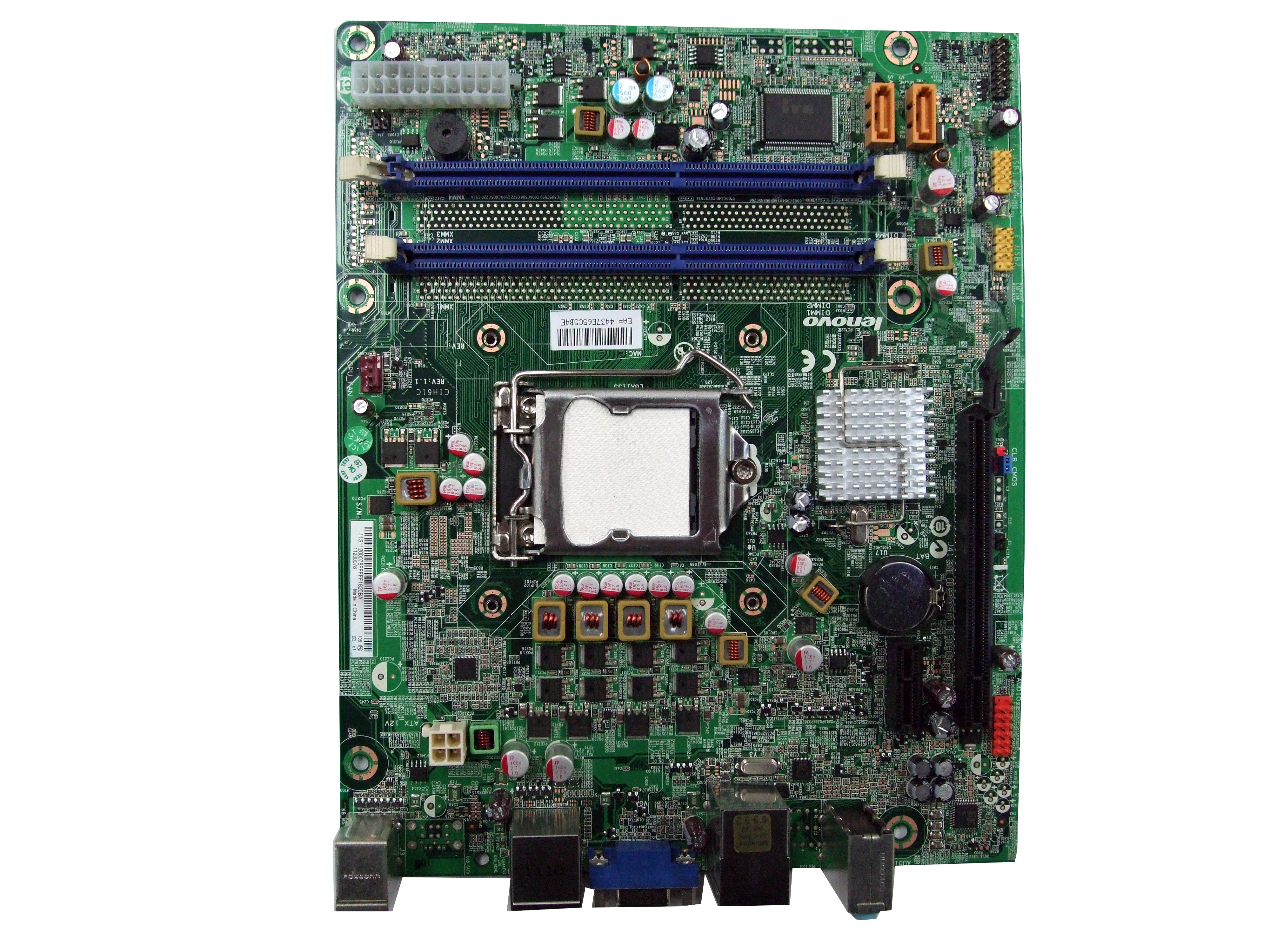 CIH61C Lenovo LGA1155 Sandy Bridge Motherboard from H330 Desktop PC Enlarged Preview