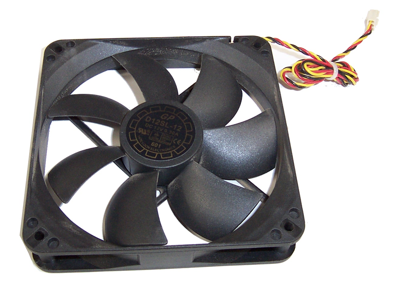 Main Components Of A Fan : Yate loon d sl dc v a system fan wire pin