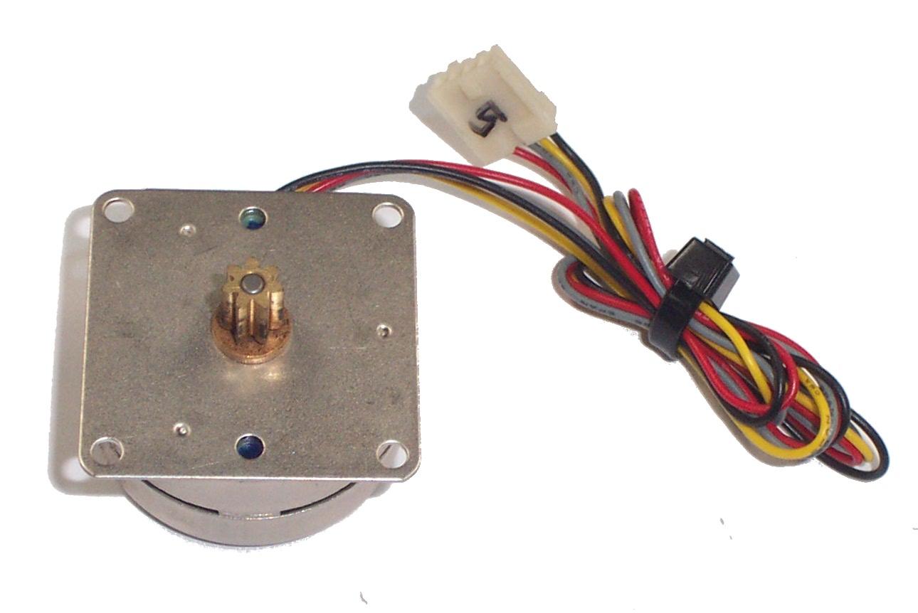 airpax s42m048s42 3.1vdc 3.6ohm 7.5degree 4-wire stepper motor   ebay 3 wire winch motor wiring diagram 3 wire stepper motor wiring
