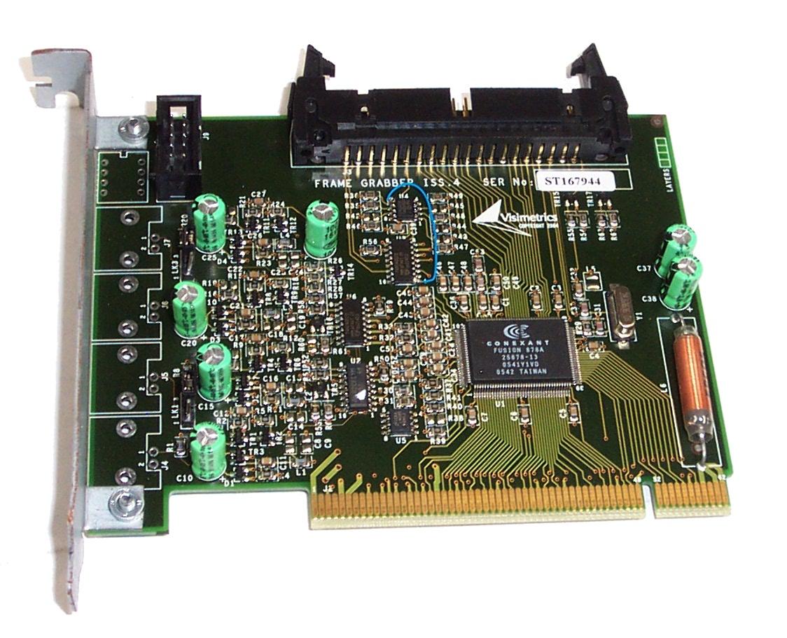 Visimetrics Frame Grabber ISS.4 For CCTV System Enlarged Preview
