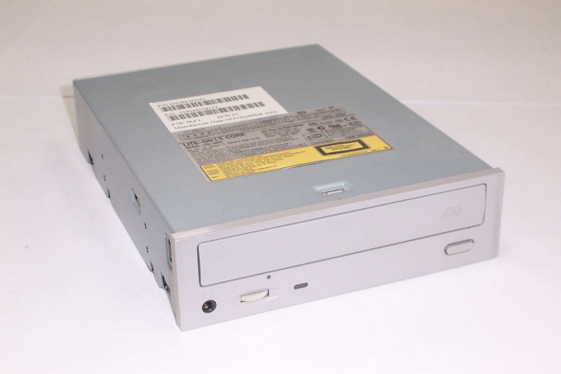 LITE-ON CD-ROM LTN-487T ATA Device Drivers List