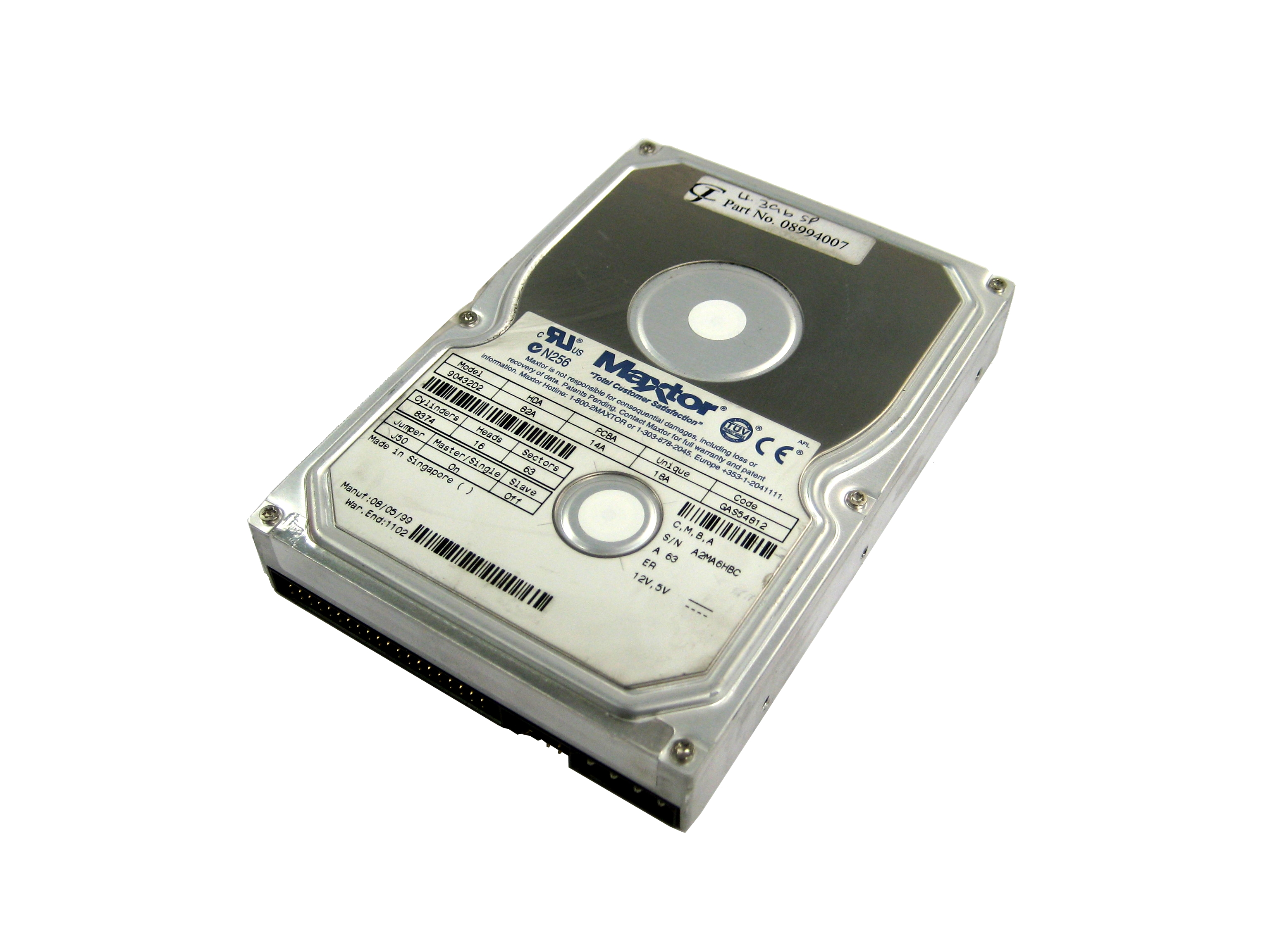 Hardisk Ata Maxtor 90432d2 4gb 5400rpm Ultra 33 40 Pin Disk Drive 102645887845 Ebay