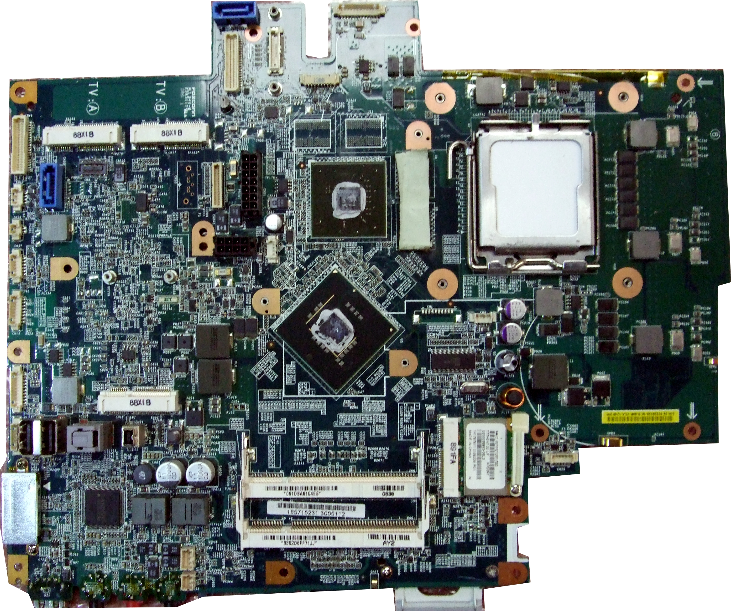 SONY M820/M830 MBX-199 Motherboard IP-008BJ02-8011 IRX-4440 Rev 1.1 Enlarged Preview