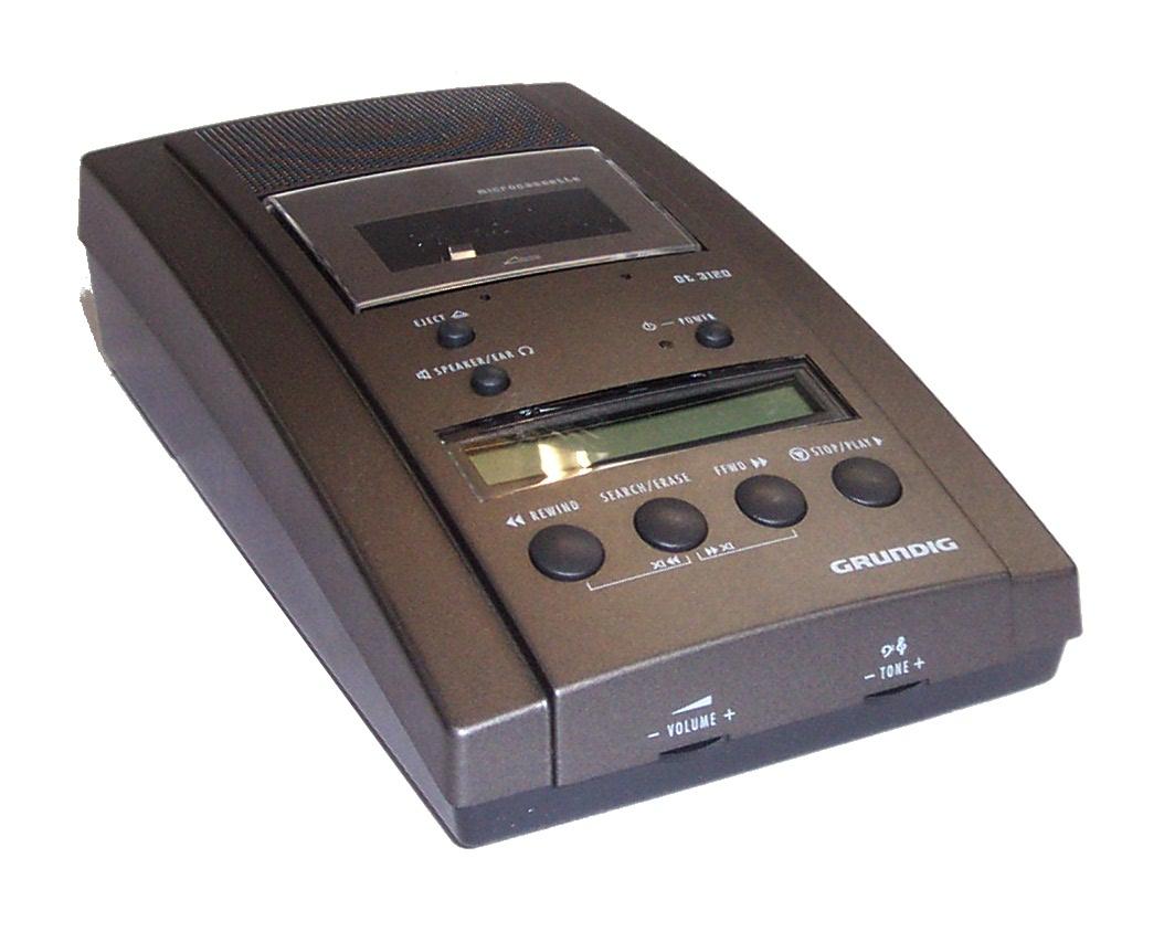 microcassette dictation machine