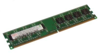 View Item Hynix HYMP564U64CP8-Y5 AB-T 512MB PC2-5300U CL5 DDR2 1Rx8 240-Pin DIMM