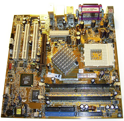 HP 5187-4113 ASUS A7N8X-LA REV:2.01 Socket 462 Motherboard With I/O