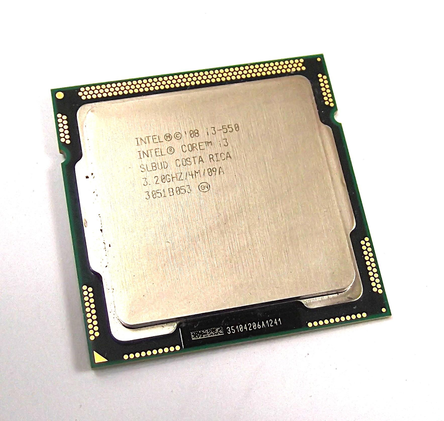 Intel SLBUD Core I3 550 32GHz LGA1156 Dual Core Processor